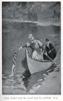 Merlino ed Excalibur - W. H. Margetson 1914 b